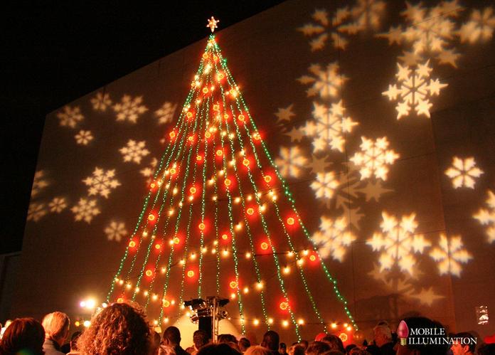 Projection Christmas Lighting