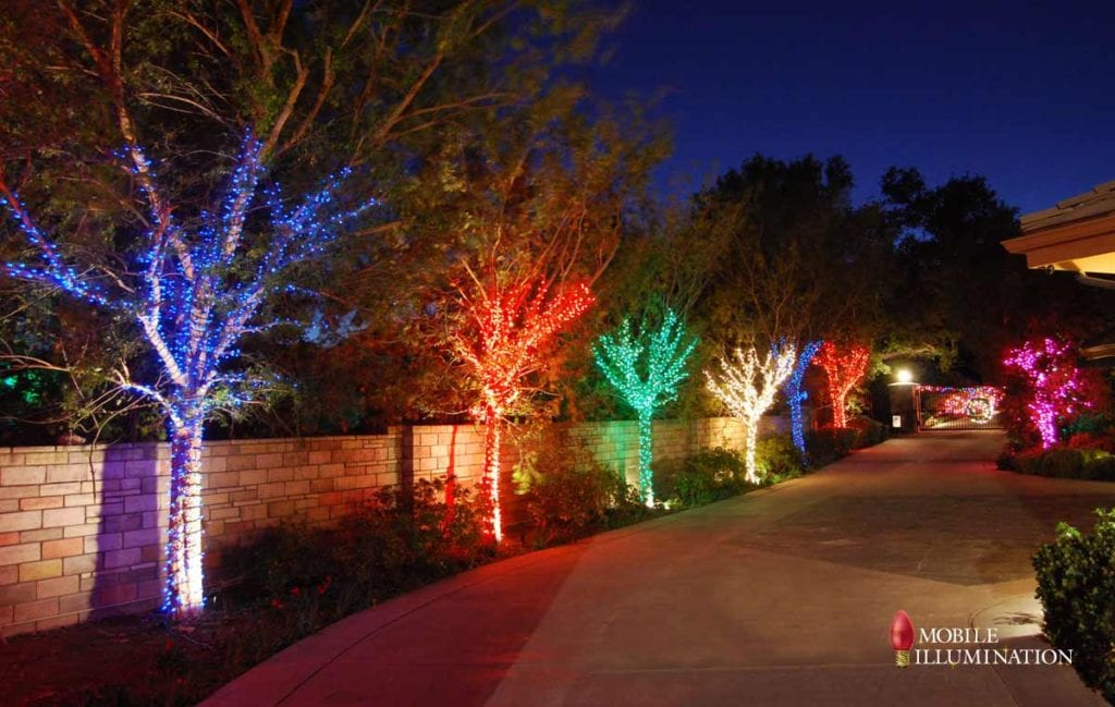 Changing your Christmas Lighting and Decor Design