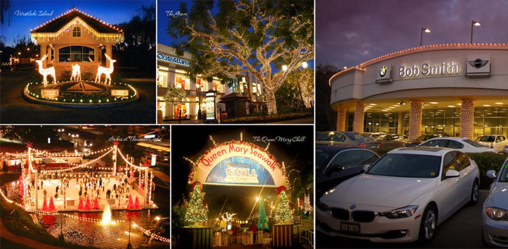 Commercial Property Christmas Lighting Designs