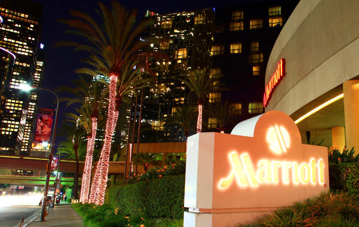 Marriott lighting