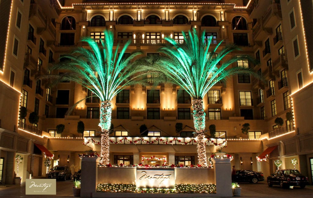 Year-round decorative lighting for hotels and resorts makes every stay feel like the holidays.
