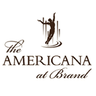 Custom Lighting Design - The Americana at Brand
