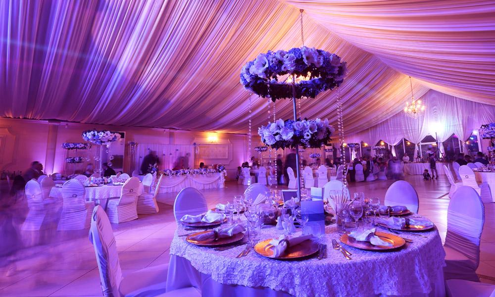 Wedding Lighting Installation