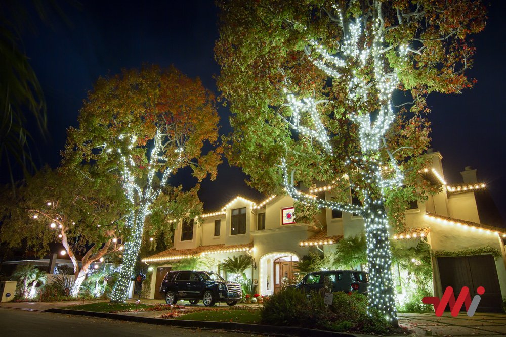 Christmas Lighting Installation - Residential