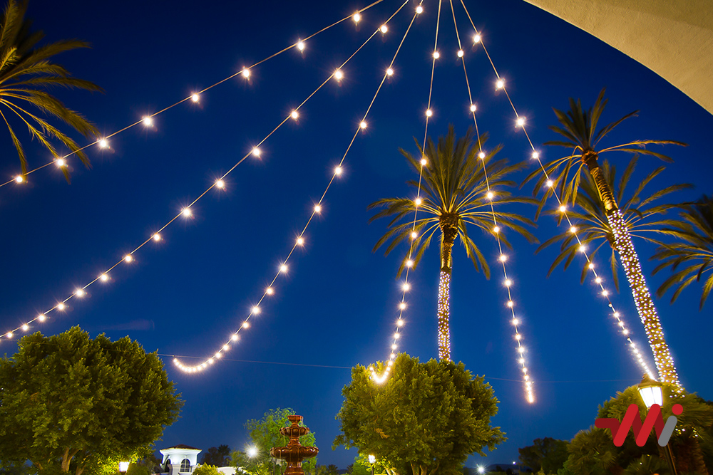 Special Event Lighting - Wedding