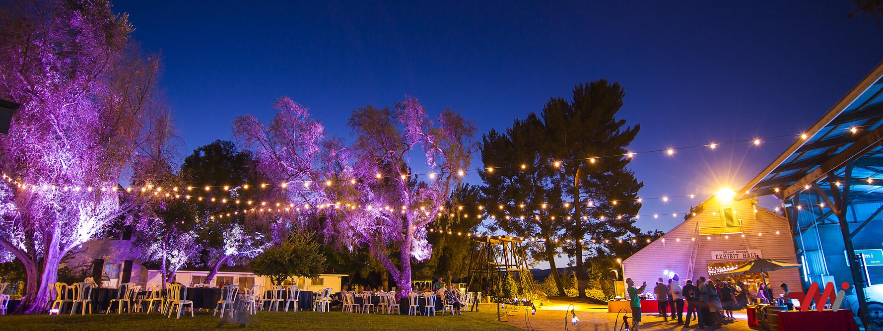 Special Event Lighting Installation
