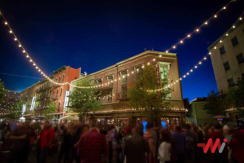 Special Event Lighting - Warner Brothers Studios
