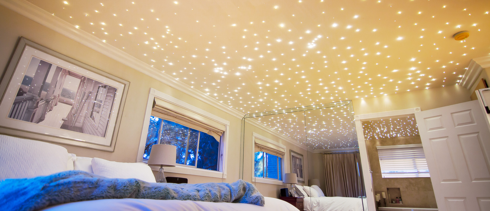 Fiber Optic Starfield Ceilings