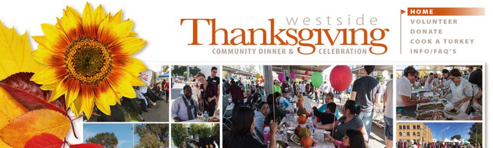 Westside Thanksgiving Volunteer