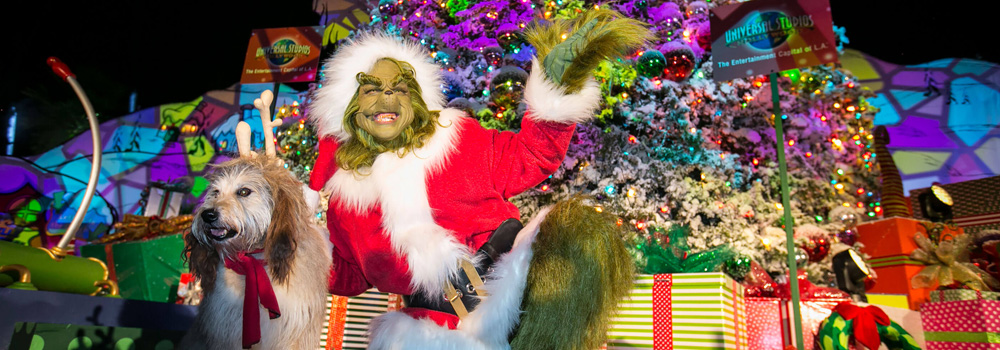 Christmas at Universal Studios