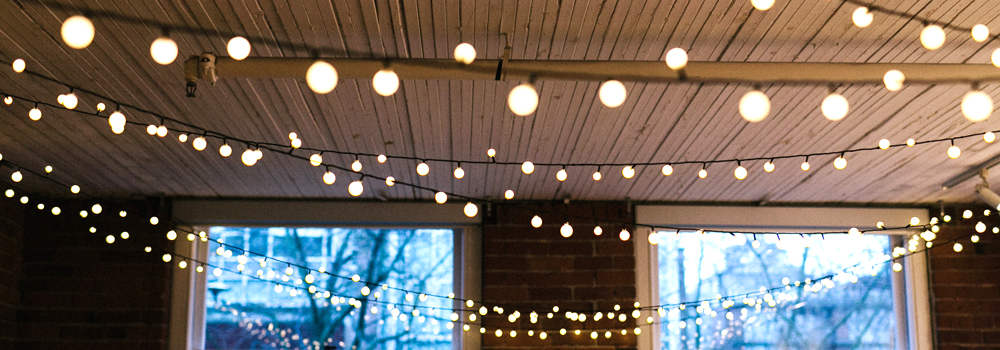 Winter Party Ideas - Lights