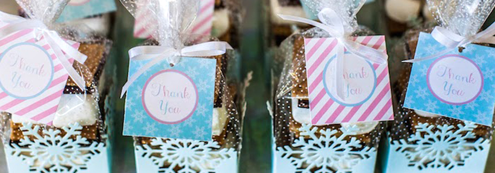 Winter Party Ideas - Party Favors