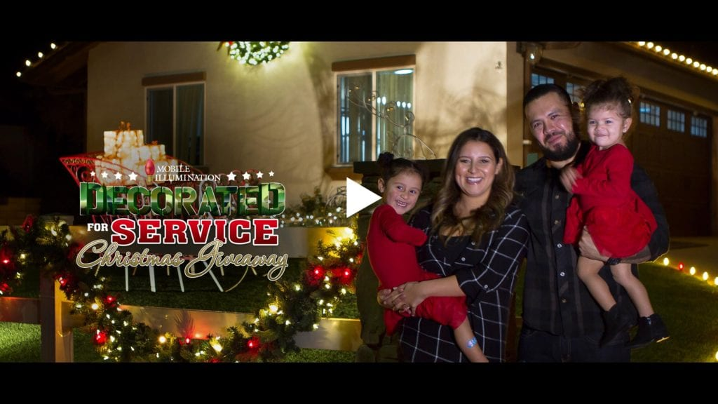 4th Annual Decorated for Service Christmas Giveaway 2017