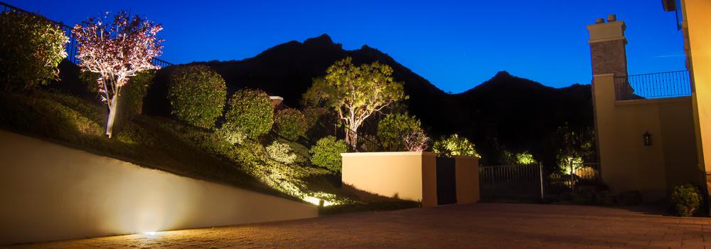 Winter Landscape Lighting | Mobile Illumination