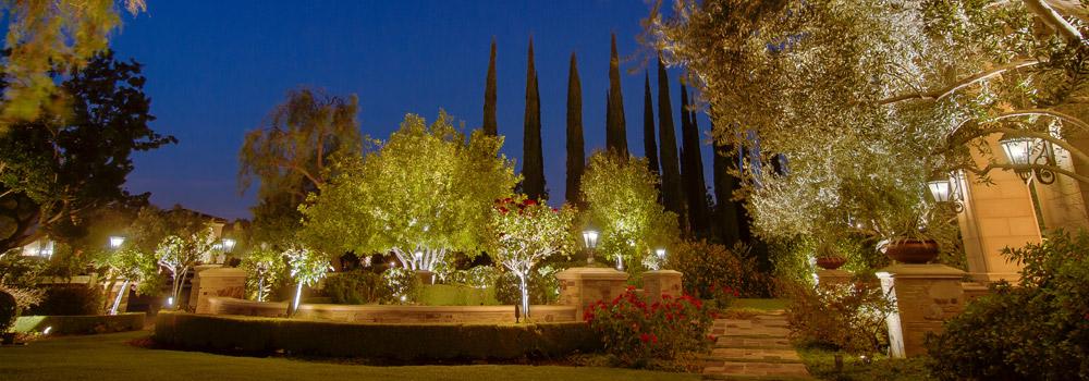 Landscape Lighting Night Demos