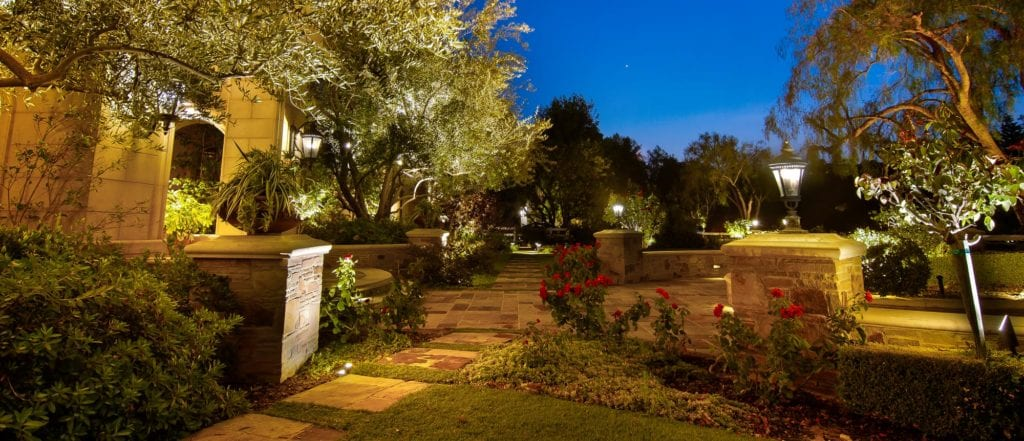 Landscape Lighting Free Night Demos