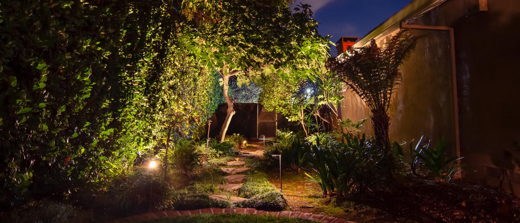 landscape lighting technniques
